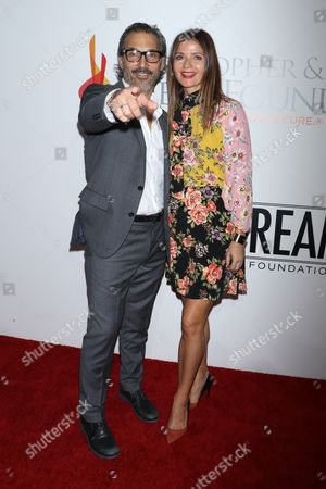 Jill Hennessy and husband Paolo Mastropietro