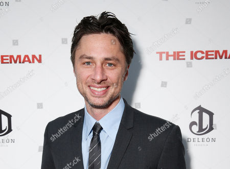 Editorial photo of Theater-Zach Braff, Los Angeles, USA