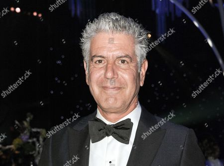 Anthony Bourdain at the 2013 Primetime Creative Arts Emmy Awards Governors Ball in Los Angeles. Bourdain, Ina Garten, and Martha Stewart remain the names to beat in food broadcasting. For a second year running, the three dominated the top tier of television awards by the James Beard Foundation, winning for the same shows in the same categories as in 2014