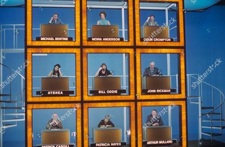 'Celebrity Squares'  - Michael Bentine, Moira Anderson, Colin Crompton, Ayshea Brough, Bill Oddie , John Rickman, Patrick Cargill, Patricia Hayes and Arthur Mullard