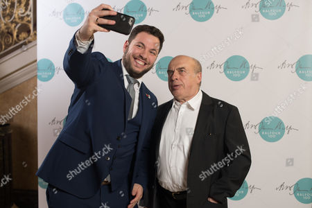 Arieh Miller, CEO of The ZIonist Federation, with Natan Sharansky