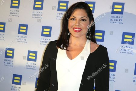 "Sara Ramirez arrives at the 2015 Human Rights Campaign Gala Dinner at the JW Marriott LA Live in Los Angeles. Surgeon Callie Torres is turning in her scalpel at Grey Sloan Memorial Hospital. Ramirez, who plays Dr. Torres on ""Grey's Anatomy,"" tweeted, that she's taking ""welcome time off"" after 10 years with the ABC medical drama"