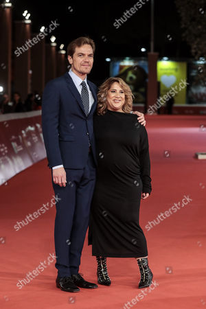 Stock Picture of Michael Shannon with the director Jennifer LeBeau