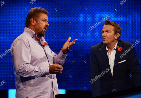 (Ep4) - Martin Roberts with host Bradley Walsh facing The Chaser