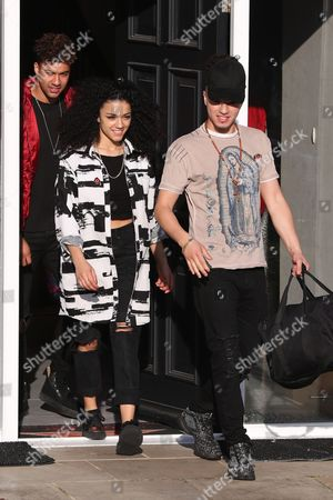 Editorial image of X Factor Contestants out and about, London, UK - 03 Nov 2017