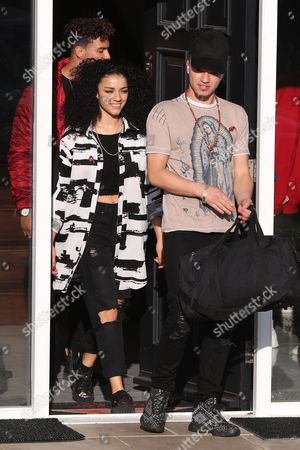 Editorial photo of X Factor Contestants out and about, London, UK - 03 Nov 2017
