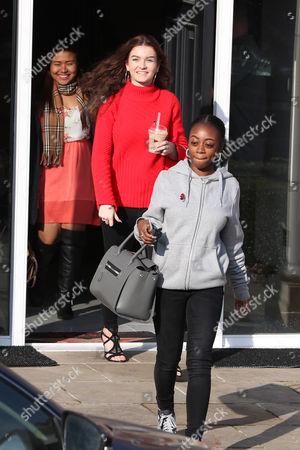 Alisah Bonaobra, Holly Tandy and Rai-Elle Williams