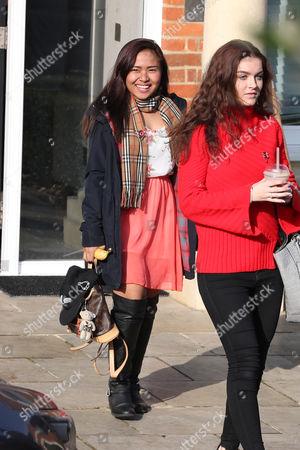 Alisah Bonaobra and Holly Tandy