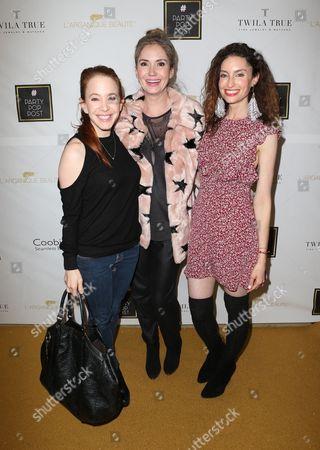 Stock Image of Amy Davidson, Samantha Gutstadt, Ashley Jones