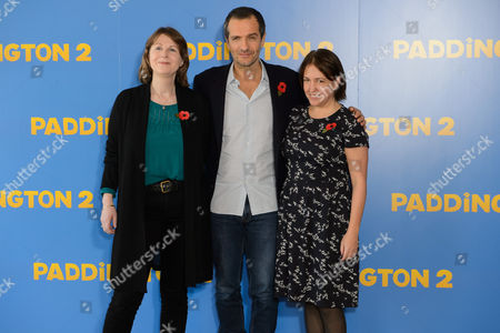 Rosie Alison, David Heyman and Alexandra Ferguson-Derbyshire