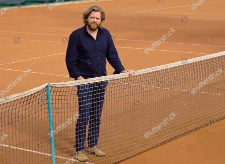 Director Janus Metz poses for portraits for the film 'Borg McEnroe' during the 12th Rome Film Fest in Rome