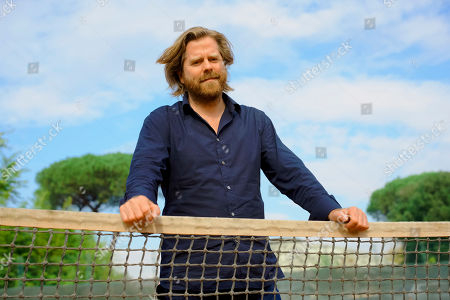 Stock Picture of Director Janus Metz poses for portraits for the film 'Borg McEnroe' during the 12th Rome Film Fest in Rome
