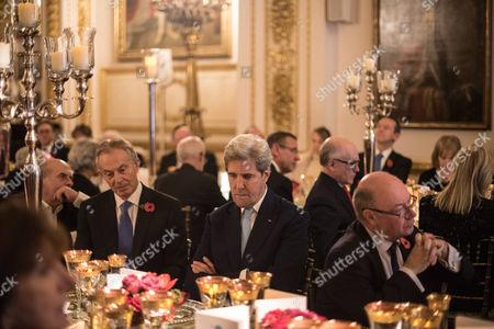 Tony Blair, John Kerry and Alistair Burt.