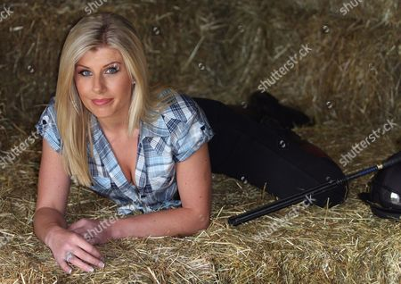 Editorial image of Ali Douglas at Rhonehurst Stables, Lambourn, Berkshire, Britain - 01 May 2009