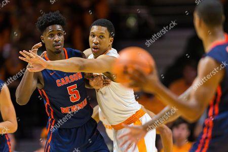 Editorial image of NCAA Basketball Carson Newman vs Tennessee, Knoxville, USA - 02 Nov 2017