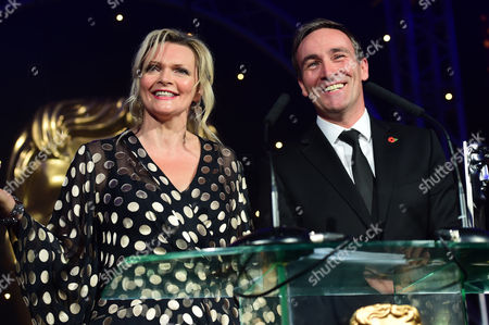 Sharon Small and Derek Riddell presenting Television Scripted