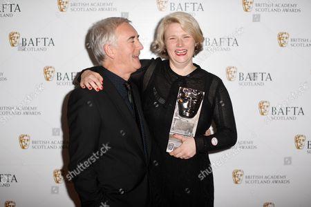 Editorial photo of British Academy Scotland Awards, Press Room, Glasgow, UK - 05 Nov 2017