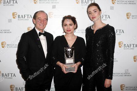 David Hayman, Laura Fraser - Actress Television - The Missing and Freya Mavor