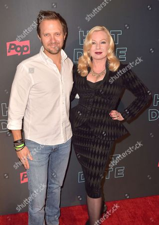 Stock Picture of Traci Lords, Brad Schwartz