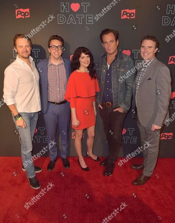 Pop TV President Brad Schwartz, Brian Murphy, Emily Axford and Will Arnett