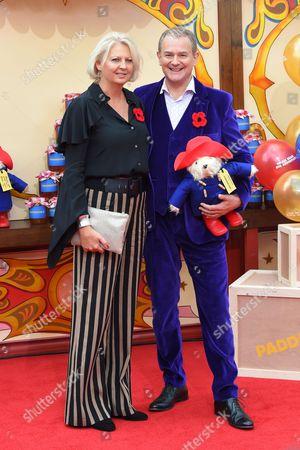 Hugh Bonneville and Lulu Evans
