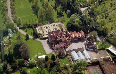 Mohamed Al Fayed's  Barrow Green Court Estate in Oxted, Surrey, Britain