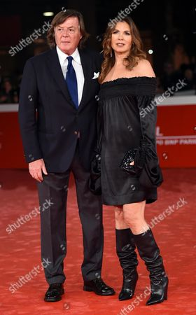Italian former tennis champion Adriano Panatta and his wife Rosaria arrive for the premiere of 'Borg McEnroe' at the 12th annual Rome Film Festival, in Rome, Italy, 03 November 2017. The festival runs from  26 October to 05 November.