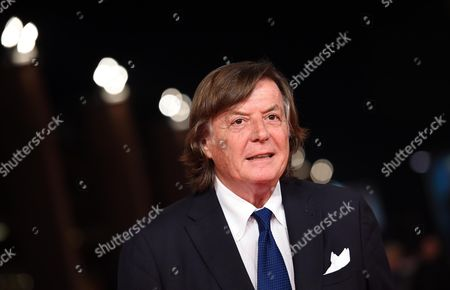 Italian former tennis champion Adriano Panatta arrives for the premiere of 