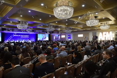 Editorial photo of The Future of Global Film Finance Conference at the American Film Market 2017 - Day 3 at the Fairmont Hotel, Los Angeles, USA - 03 Nov 2017