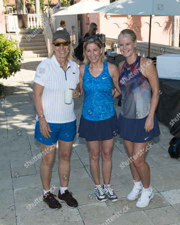 Martina Navratilova, Chris Evert, Maeve Quinlan