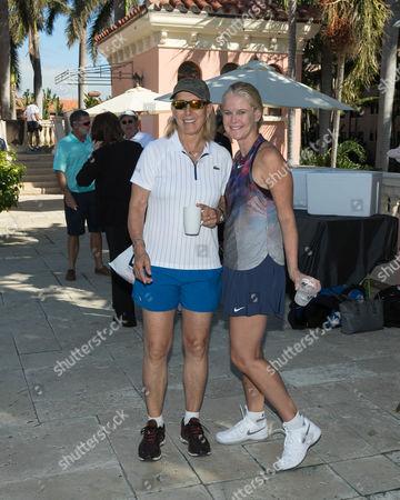 Martina Navratilova, Maeve Quinlan