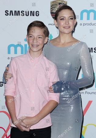Ryder Robinson and Kate Hudson