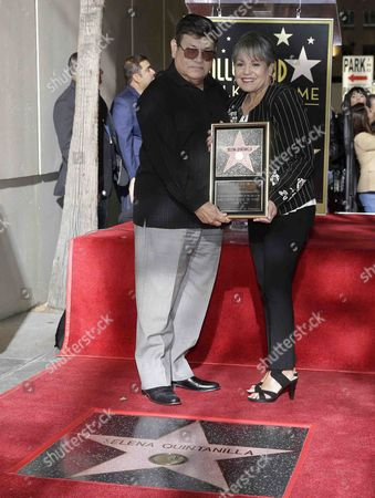 Editorial picture of US-Mexican singer Selena Quintanilla honored with a posthumous star on the Hollywood Walk of Fame, USA - 03 Nov 2017