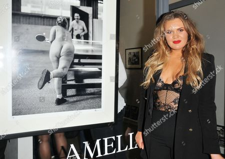 Editorial photo of Amelia Allen 'Naked Britain' book launch and private view, Herrick Gallery, London, UK - 03 Nov 2017