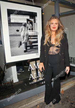 Editorial picture of Amelia Allen 'Naked Britain' book launch and private view, Herrick Gallery, London, UK - 03 Nov 2017