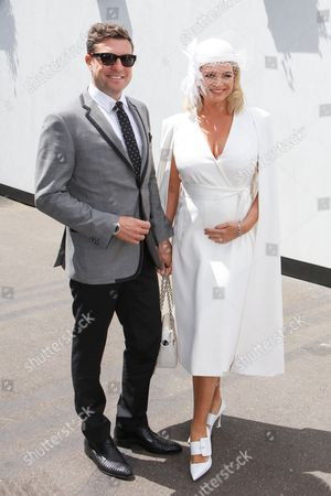 Stock Photo of Rebecca Maddern and Trent Miller