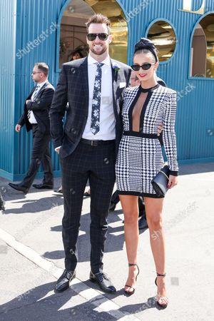 James Magnussen and Rose McEvoy