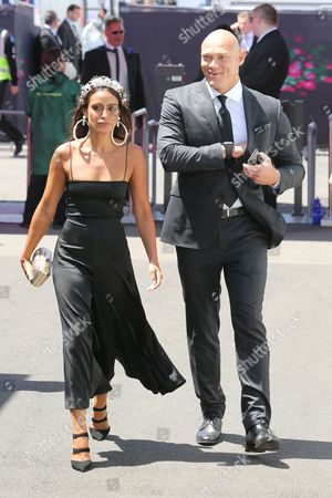 Michael Klim and partner Desiree Deravi