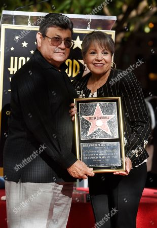 Abraham Quintanilla Jr., Marcella Ofelia Samora. Abraham Quintanilla Jr., left, and Marcella Ofelia Samora, parents of the late singer Selena Quintanilla, pose together following a posthumous star ceremony for Selena on the Hollywood Walk of Fame, in Los Angeles