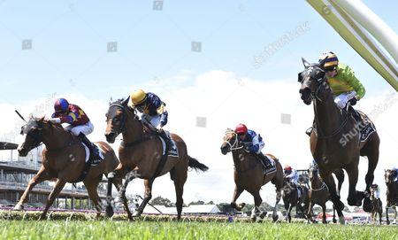 Editorial picture of Victoria Derby in Melbourne, Australia - 04 Nov 2017