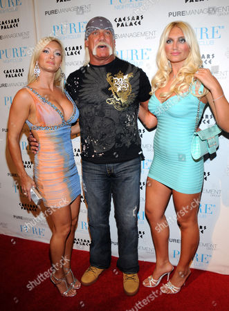 Jennifer McDaniel, Hulk Hogan and Brooke Hogan