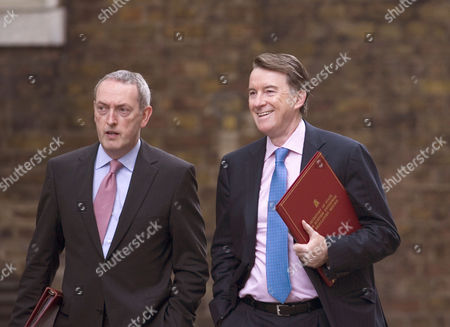 John Hutton and Peter Mandelson