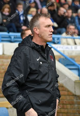 Leyton Orient manager Steve Davis during the The FA Cup match between Gillingham and Leyton Orient at the MEMS Priestfield Stadium, Gillingham