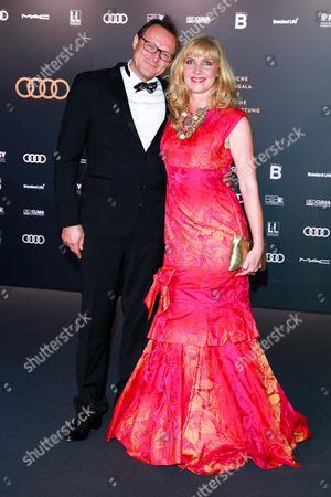 Nanna Kuckuck mit Ehemann Dirk