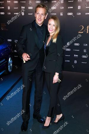 Jan Hahn mit partner Constanze