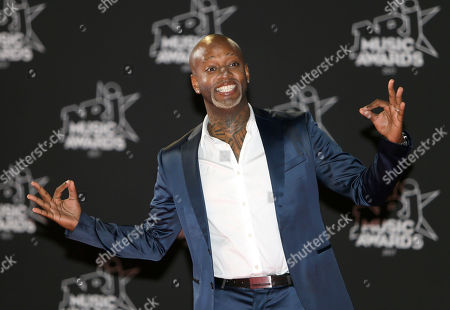 French DJ Willy William arrives at the Cannes festival palace, to take part in the NRJ Music awards ceremony, in Cannes, southeastern France