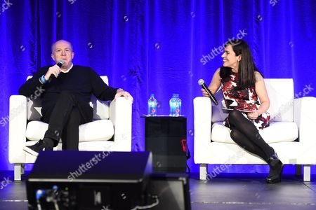 Cassian Elwes, Independent Producer/Agent, and Pilar Alessandra, Instructor/Consultant of On The Page