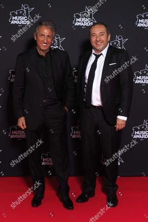 Richard Anconina and Patrick Timsit