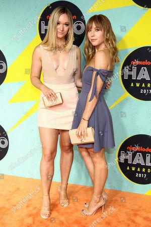 Alisha Marie, Ashley Nichole. Alisha Marie, left, and Ashley Nichole, right, attend the Nickelodeon Halo Awards at Pier 36, in New York