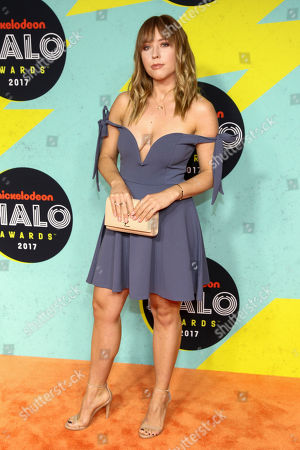 Ashley Nichole attends the Nickelodeon Halo Awards at Pier 36, in New York